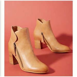Anthropologie Silent D Uriah Ankle Boots